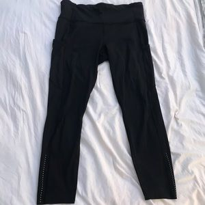 Lululemon high waisted leggings w/ pockets
